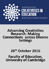 Creativities in Education Group one-day conference 2016