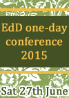 EdD one-day conference colours
