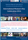 IWD Celebration 2016 poster in miniature