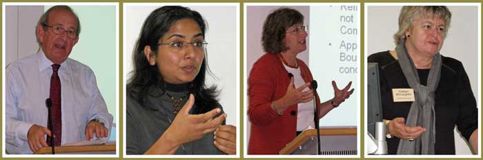 Speakers: Mike Younger, Nidhi Singal, Madeleine Arnot and Colleen McLaughlin