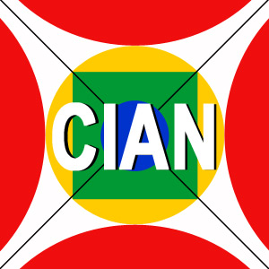 Commonwealth Intercultural Arts Network (CIAN) Logo