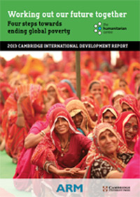 2013 Cambridge International Development Report - image of cover