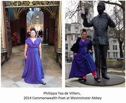 Phillippa Yaa de Villiers at Westminster Abbey (10 March 2014)