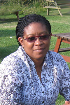 Image of Sharon Phillip visiting CCE (July 2013)