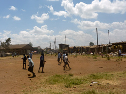 Children against the Odds at a school in Koorogocho, Nairobi