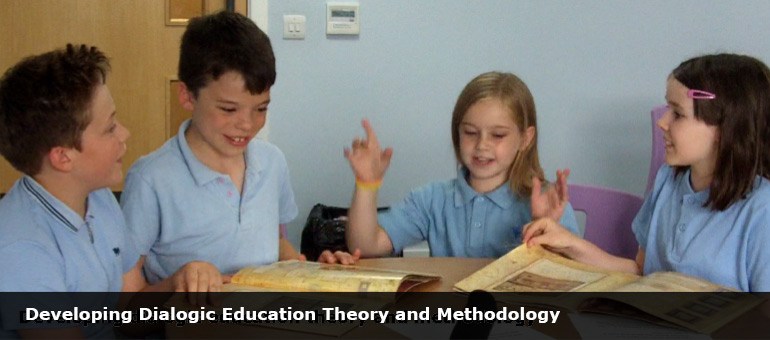 Developing dialogic education theory and methodology