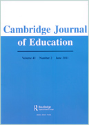 Cambridge Journal of Education cover