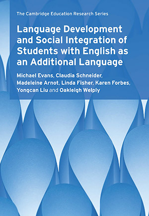 Language Development and Social Intergration of Students with English as a Second Language - Book Cover