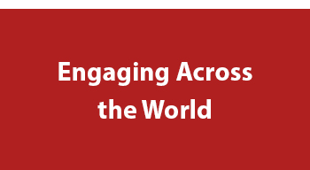 engaging across the world