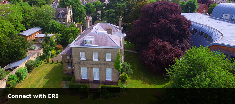 Trumpington House from the air | Jon Chiffins