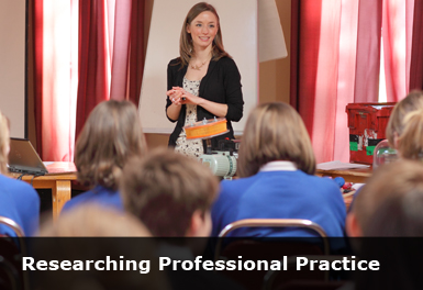 teacher and students professional practice