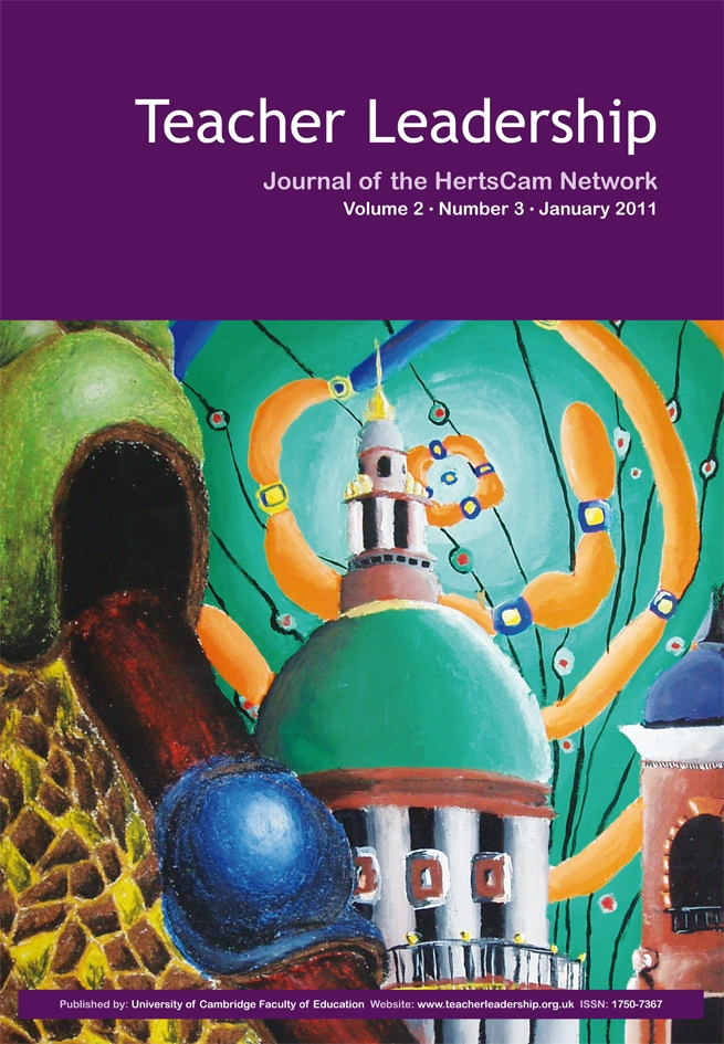 Teacher Leadership - Journal of the HertsCam Network