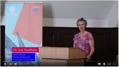 Link to talk by Sue Swaffield
