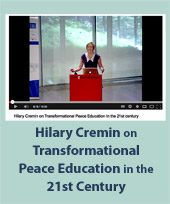 Hilary Cremin at International Conference on Peacebuilding