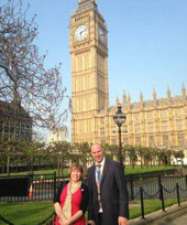 Megan Crawford, Ross McGill, Houses of Parliament