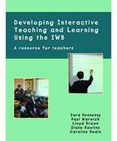 Book Launch: Developing Interactive Teaching and Learning Using the IWB by Sara Hennessy, Paul Warwick