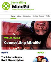 Counselling Mind Ed website
