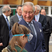 Faculty involvement as Prince Charles visits Primary PGCE link school