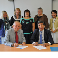 Faculty launches partnership with Abai Kazakh Pedagogical University in Kazakhstan