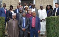 Niger State delegation and Colleen McLaughlin at the Faculty of Education