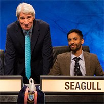 Bobby Seagull and Jeremy Paxman