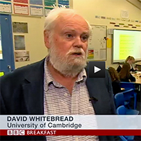 David Whitebread interview on BBC TV