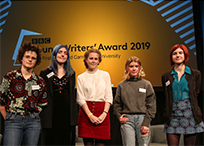 The shortlisted candidates for the BBC Young Writers' Award 2019