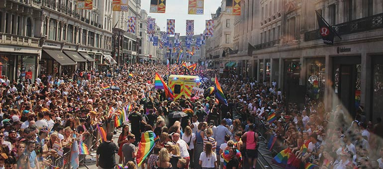Pride parade London
