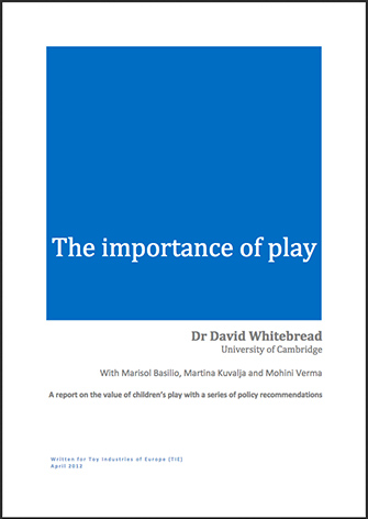 Importance of play - Whitebread