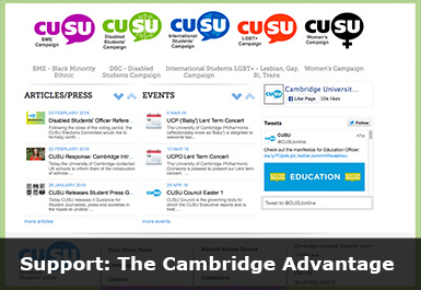 Students Union website