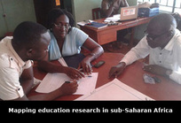 Mapping education research