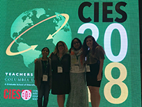 REAL members at CIES 2018