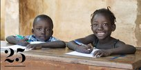 Education for Social Transformation photo of two children