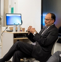 Ahsan Iqbal at REAL Centre seminar