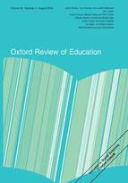 Oxford Review of Education Journal cover