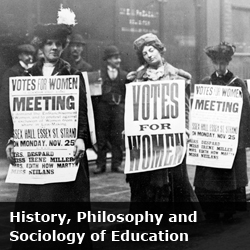 History, Philosophy & Sociology of education