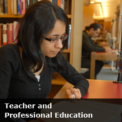 Teacher & Professional Education