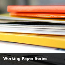 Faculty research working paper