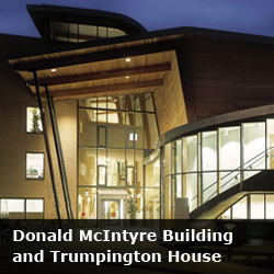 Donald McIntyre Building and Trumpington House Room Bookings