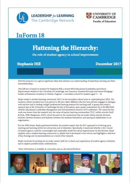 Cover page of Inform 18